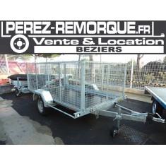 Remorque REV 1002 300x170 cm Perez-remorque Béziers