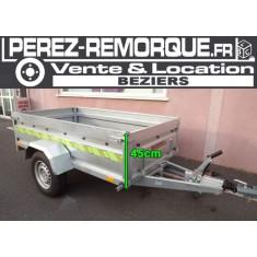 Remorque Pro freinée 9400F113+ Perez-remorque Béziers