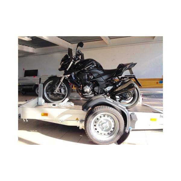 remorque porte moto ptac 750kg. Black Bedroom Furniture Sets. Home Design Ideas