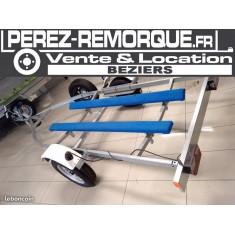 Remorque Porte jet-ski CBS Perez-remorque Béziers