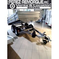 Remorque BENNE FRANC PTAC 2500KG Perez-remorque Béziers