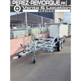 REMORQUE PORTE TOURET HUMBAUR PTAC 3000kg / 3500kg Perez-remorque Béziers