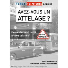 ATTELAGE TOUS VEHICULES Perez-remorque Béziers