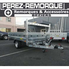 Remorque BENNE FRANC PTAC 1500KG Perez-remorque Béziers