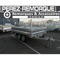 Remorque BENNE FRANC PTAC 750KG Perez-remorque Béziers