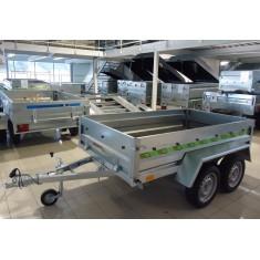 Double essieux 236x129x40 cm Perez-remorque Béziers