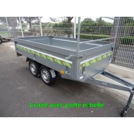 Remorque N262 263x145x40 cm Perez-remorque Béziers